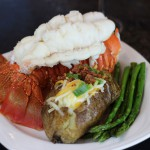 Lobster Tail and Potato